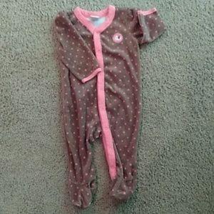 Old Navy footed pajamas EUC